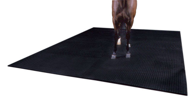 alley rubber mat for horse